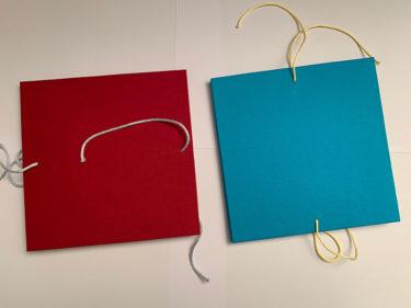 AnneLaure Pham Carnets d'instants rouge et bleu