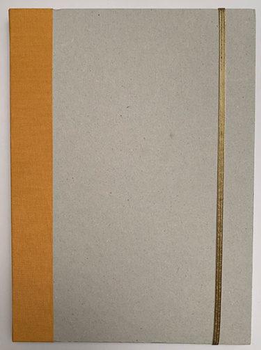 AnneLaure Pham - Carnet de souvenirs doré