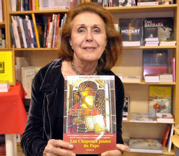 La Provence – Laurence Benveniste sur les traces des «Chapeaux jaunes duPape»