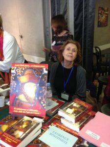 Laurence Benveniste au Salon du Livre Wizo Marseille